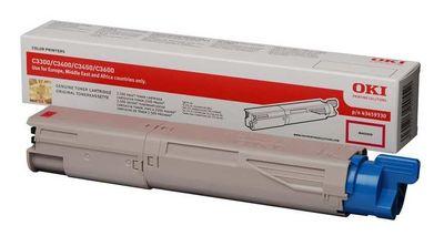 OKI 43459346 Toner 2.500 Sayfa Kırmızı C3300-3400-3450-3600 Modelleri