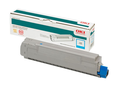 OKI 44059171 MAVI TONER / MC851, MC861 / 7300 SAYFA