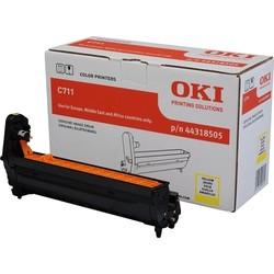 OKI - OKI 44318505 SARI DRUM / C711 / 20000 SAYFA