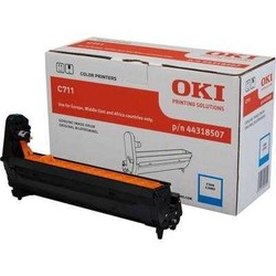 OKI - OKI 44318507 MAVI DRUM / C711 / 20000 SAYFA