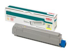 OKI - OKI 44318621 SARI TONER / C710, C711 / 11500 SAYFA