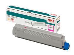 OKI - OKI 44318622 KIRMIZI TONER / C710, C711 / 11500 SAYFA