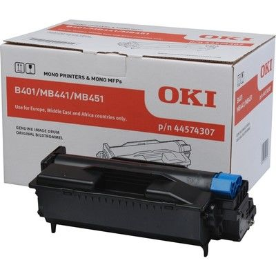 OKI 44574307 DRUM / B401, MB441, MB451 / 25000 PAGES