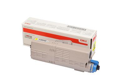 OKI 46490629 TONER-Y-C532/MC573-6K SARI TONER / C532, C542, MC563, MC573 / 6000 SAYFA