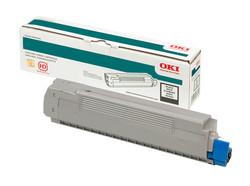 OKI - OKI 46507628 TONER-K-C712 SİYAH TONER / C712/ 11000 SAYFA