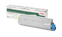 OKI - Oki C824-834-844 5bin Sayfa Yellow Sarı Toner 47095705