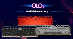 OLOY - OLOy 8GB DDR4 3200MHZ C16 OWL RED MD4U083216BHSA Soğutuculu Pc Ram