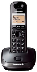 PANASONIC KX-TG2511 DECT TELEFON SİYAH - Thumbnail