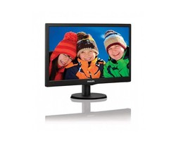 "Philips - Philips 18.5"" 193V5LSB2/62 5ms Vesa Parlak LED"