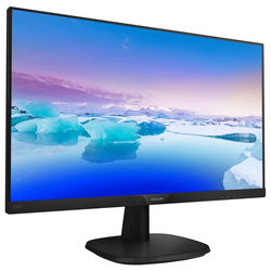 "PHILIPS 243V7QDSB-01 23,8""1920x1080,5ms,60Hz,VGA-DVI-HDMI,IPS,Siyah Led Monitör - Thumbnail"