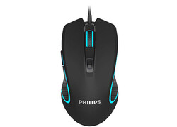 PHILIPS - Philips SPK9413 Usb Siyah 1200-2400-3200-6400dpi Gaming 7 Farklı Led Aydınlatma
