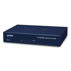 PLANET - Planet PL-FSD-503 5-Port 10/100Mbps Fast Ethernet Switch