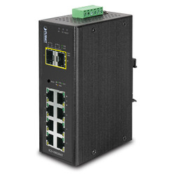 PLANET - Planet PL-IGS-10020MT Endüstriyel Tip Yönetilebilir Switch (Industrial Managed Switch)