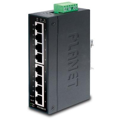Planet PL-IGS-801T Endüstriyel Tip Yönetilemeyen Switch