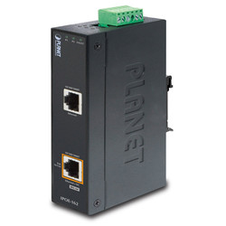 PLANET - Planet PL-IPOE-162 Endüstriyel Tip IEEE 802.3at Gigabit High Power over Ethernet Injector