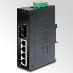 PLANET - Planet PL-ISW-511TS15 Endüstriyel Tip Yönetilemeyen Ethernet Switch