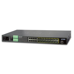 PLANET - Planet PL-MGSW-24160F Layer 2+ Yönetilebilir Metro Ethernet Switch