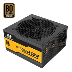 POWER BOOST - POWER BOOST ATX650B 650W 80+ Bronze Power Supply Semi Modüler 12cm Fanlı