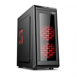 Power Boost VK-1631 500W USB 3.0 ATX Kasa Meshed Panel Full Siyah (VK-1631) - Thumbnail