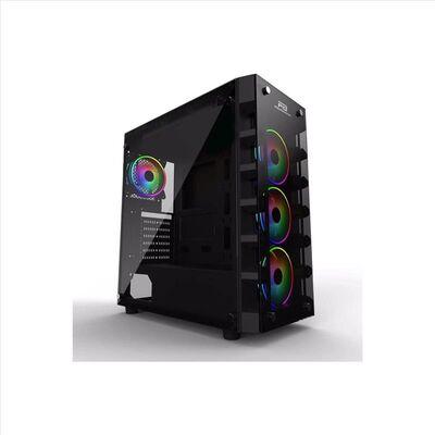 POWER BOOST X-59 GLASS Powersız Siyah Temper Camlı MidTower ATX Kasa