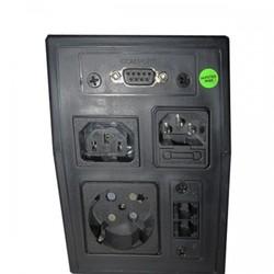 POWERUP 1000VA (LED) Line İnt. RS232 + RJ11 UPS (UPS-PL-1100VA-01) - Thumbnail