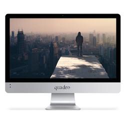 """QUADRO - QUADRO AIO RAPID HM8122-46824 I5-4670T 8GB 240GB SSD 21.5"""" DOS"""