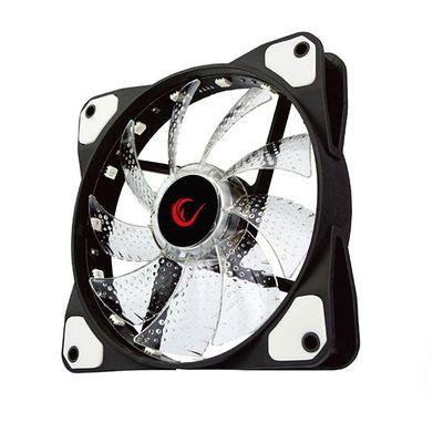 RAMPAGE 12cm JBT-15 Siyah 15x LED RGB Kasa Fanı 6pin