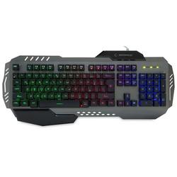 RAMPAGE - RAMPAGE KB-R79 USB Q Trk RGB Led Aydınlatmalı Alüminyum Gövde Siyah Gaming Klavye