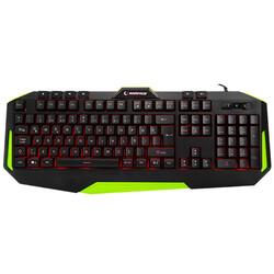 RAMPAGE KB-RX7 ALPOR Usb/Q Yeşil 3 Renk Aydınlatmalı Gaming Klavye - Thumbnail