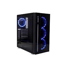 Rampage - Rampage Rampage SCOUT 600W 80+ Bronze Siyah Tempered Glass Cam Gaming Kasa
