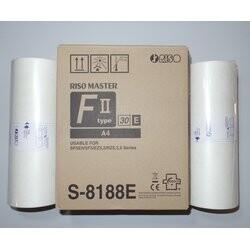 RISO - Riso S-8188 S-7611 EZ 200-201 A4 Orjinal Master eZ type 30