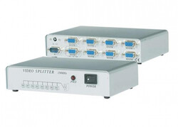 S-LİNK - S-link SL-158C 8 Port VGA Switch
