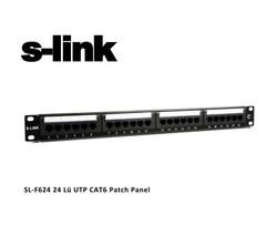S-Link SL-F624 24 Port Cat6 Patch Panel - Thumbnail