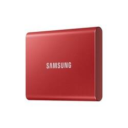 SAMSUNG - Samsung 500GB T7 1050MB-1000 MB-sn USB 3.2 Gen 2 Taşınabilir SSD MU-PC500R-WW