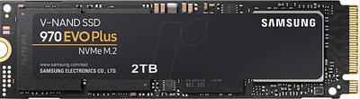 SAMSUNG MZ-V7S2T0BW 2TB 970 Evo Plus PClE M.2 2280 3500/3200 Flash SSD