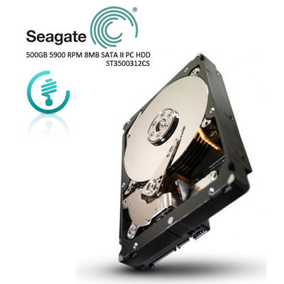 Seagate. 3.5 500GB 5900 RPM 8MB SATA PC HDD ST3500312CS