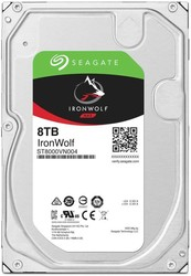 SEAGATE - SEAGATE IRONWOLF 8 TB 7200RPM SATA3 256MB 210MB/S RV 180TB/Y(ST8000VN004)