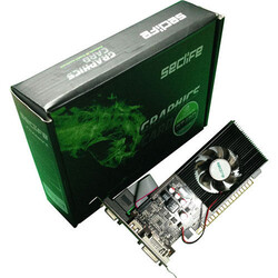 Seclife - Seclife Nvidia 2GB Geforce GT610 DDR3 64 Bit HDMI DVI VGA LP Single Fan