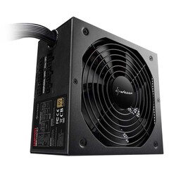SHARKOON - SHARKOON 550W 80+ Gold 14cm Fan ATX Güç Kaynağı (WPM-GOLDZERO-550W)