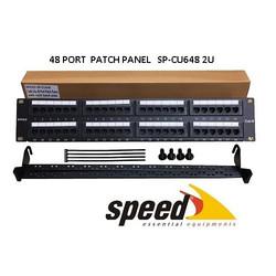 SPEED - SPEED SP-CU648 48 PORT UTP CAT6 PATCH PANEL