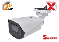 SPY - Spy SP-2120S 2.0 Mp 3.6mm Lens 2 Array Led StarLight Ir Bullet 4 in 1 Kamera