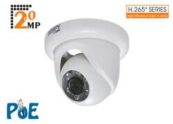 SPY - SPY SP-V322D-FF 2.0Mp 3.6mm Lens 6 Array Led H.265 Ir Dome Ip Kamera