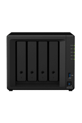 SYNOLOGY - SYNOLOGY 4x DS418 Realtek QC 1.4ghz 2gb 2x Glan USB 3.0 Raid Nas Server (Disksiz) (56tb Kapasite) 2x IP Kamera Desteği