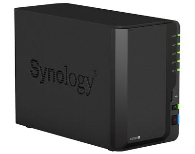 SYNOLOGY DS220+ NAS 3.5x2YUVA 1 LAN NAS DEPOLAMA ÜNİTESİ