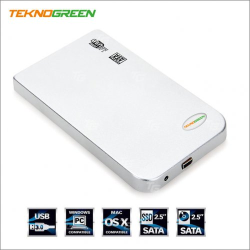 TEKNOGREEN - TEKNOGREEN TKE-252 2.5 INC USB 2.0 HARDDISK KUTUSU
