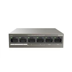 TENDA - TENDA 6-Port 10-100M 4-Port PoE Switch (TEF1106P-4-63W)