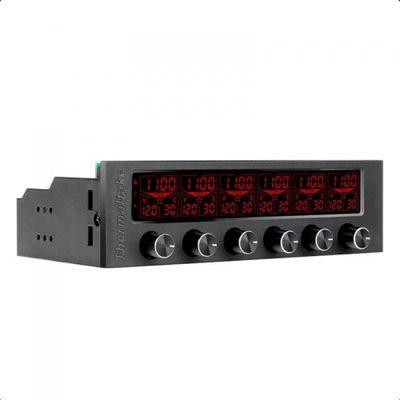 Thermaltake Commander F6 RGB LCD Ekranlı Multi Fan Kontrol Ünitesi (AC-024-BN1NAN-A1)