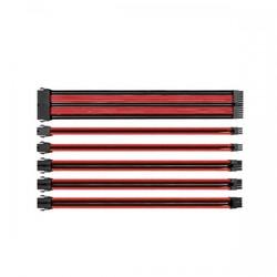 Thermaltake TtMod Kırmızı/Siyah Power Supply Sleeved Kablo Seti (16 AWG) (AC-033-CN1NAN-A1) - Thumbnail