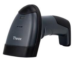 TIWOX - TIWOX El 1D Laser VS-113 USB El Tipi Barkod Okuyucu Ayaklı