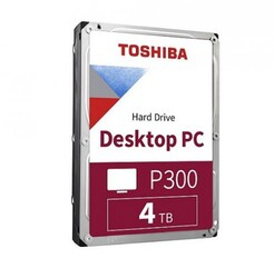 TOSHIBA - Toshiba 4TB P300 HDWD240UZSVA 3.5